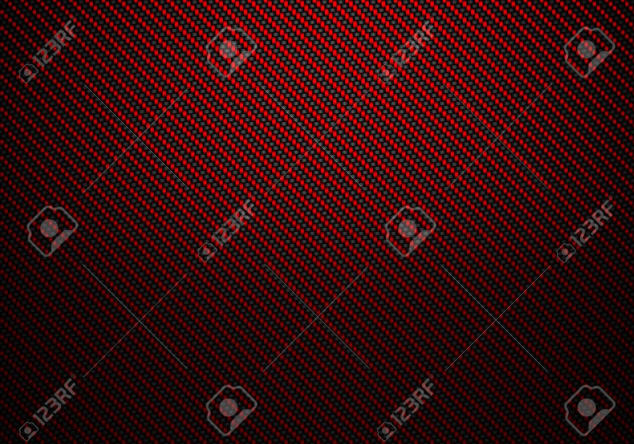 abstract modern red carbon fiber textured material design for