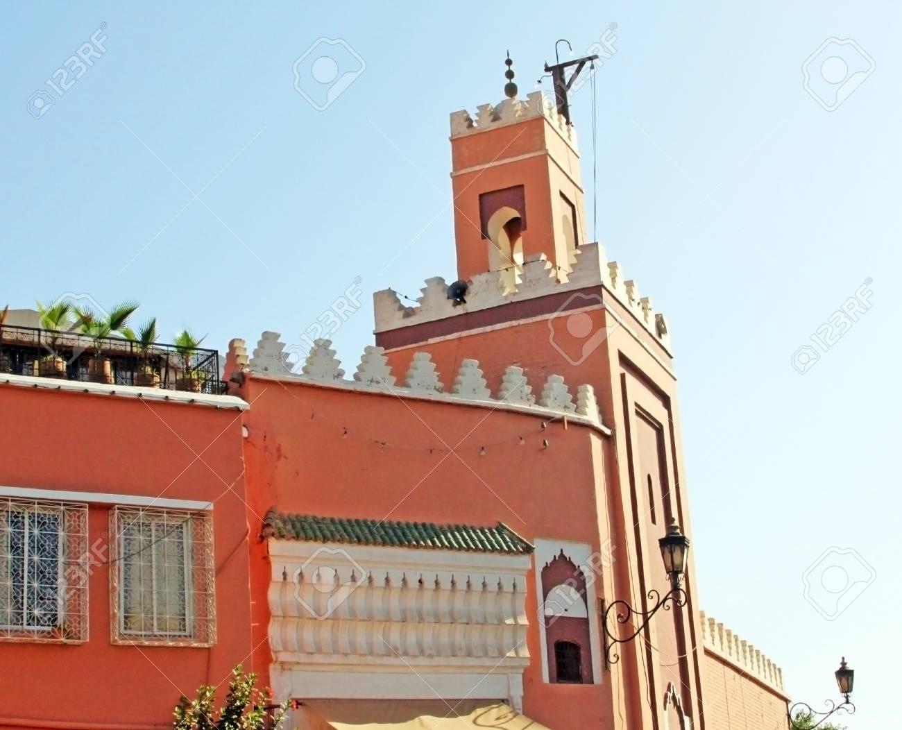 Mosque in Marrakesh, Morocco Stock Photo - 15405269