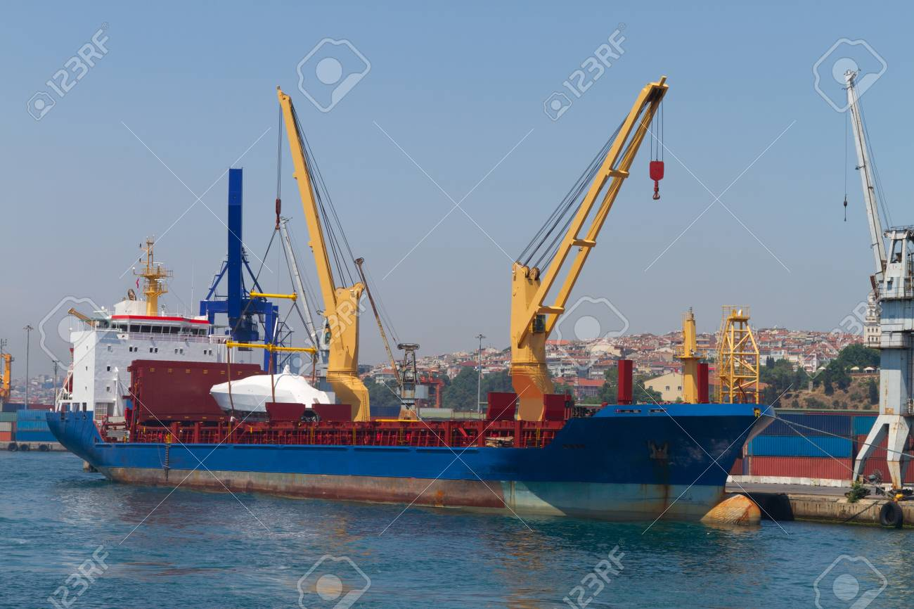 Cargo Ship Stock Photo - 21910252