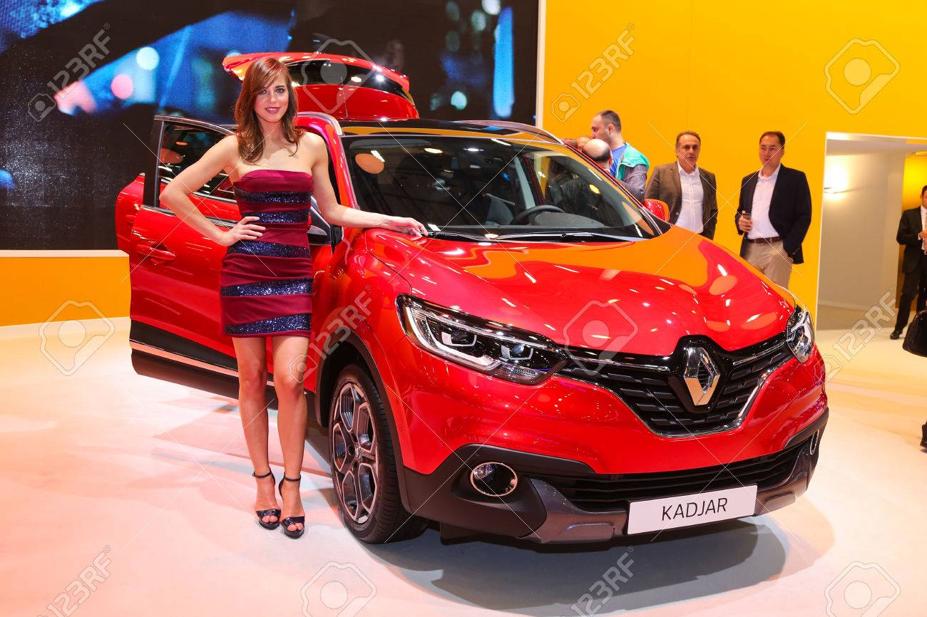 Istanbul Turkey May 21 2015 Renault Kadjar In Istanbul Autoshow Stock Photo Picture And Royalty Free Image Image 40427789