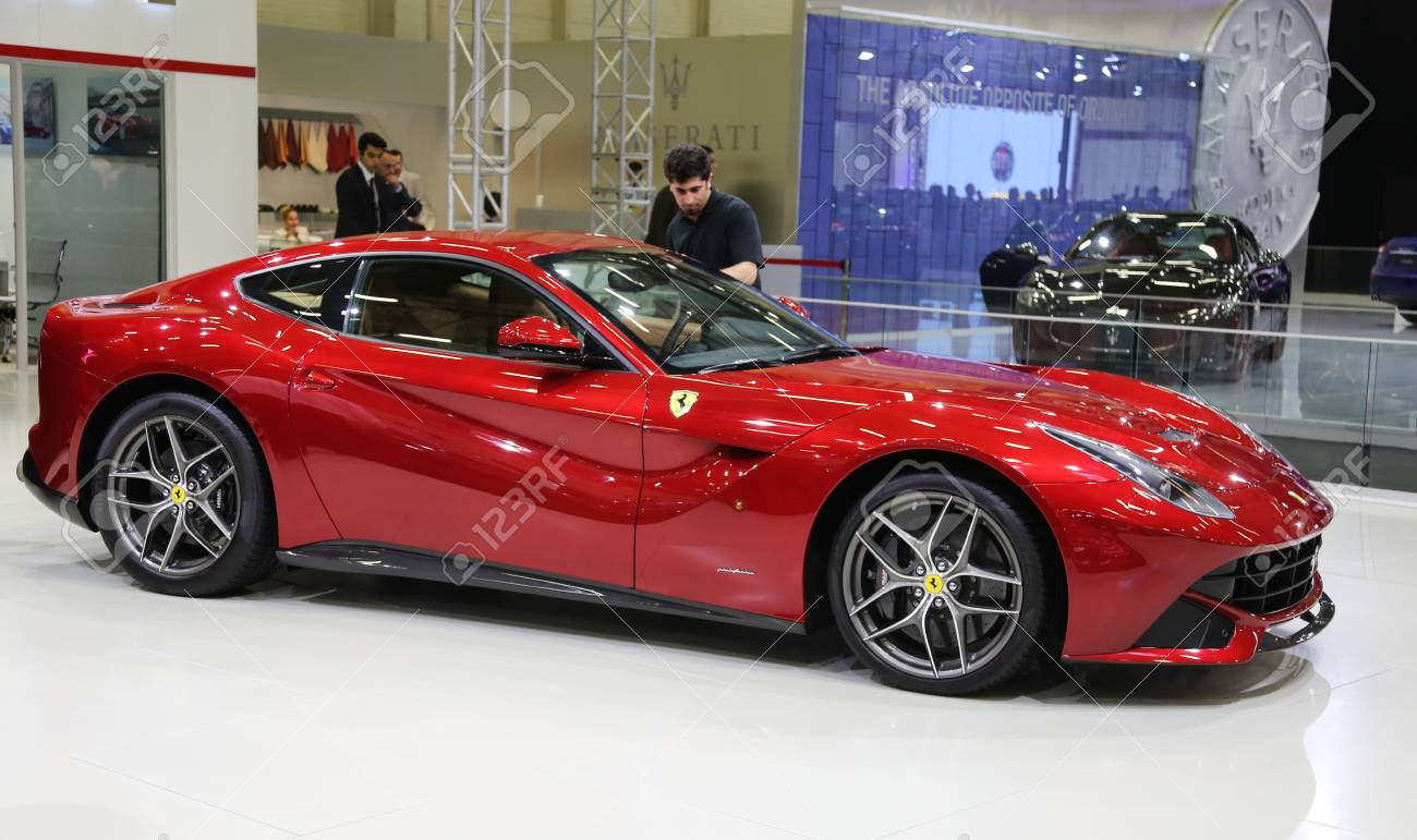 Istanbul Turkey May 21 2015 Ferrari F12berlinetta In Istanbul Stock Photo Picture And Royalty Free Image Image 41006011