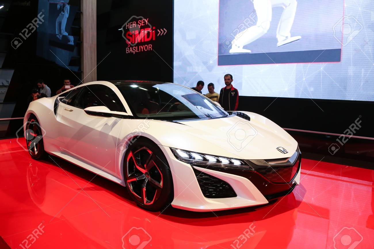 Istanbul Turkey May 30 2015 Honda Nsx Concept Car In Istanbul Stock Photo Picture And Royalty Free Image Image 41298437