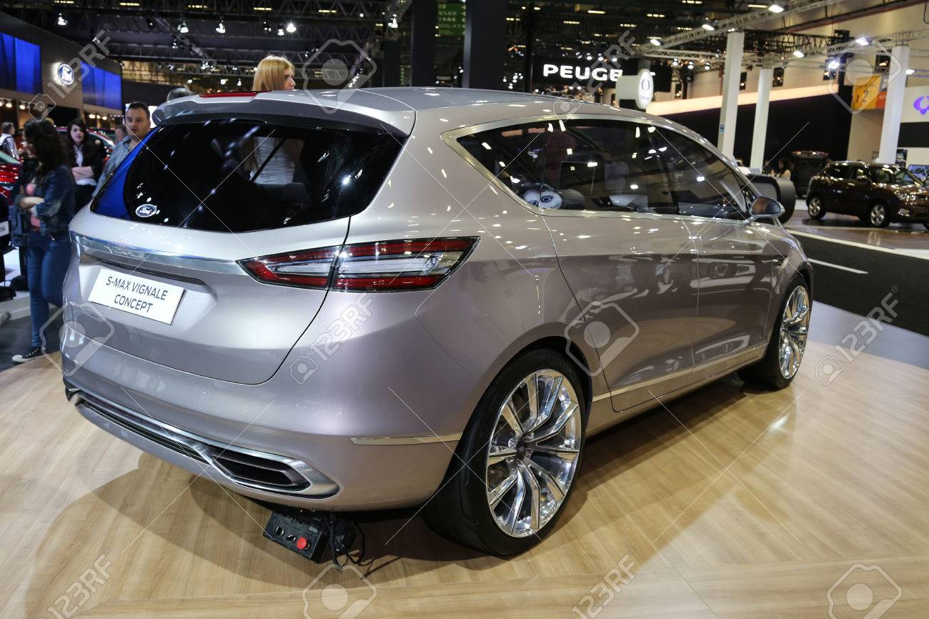 S Max Vignale >> Istanbul Turkey May 30 2015 Ford S Max Vignale Concept In