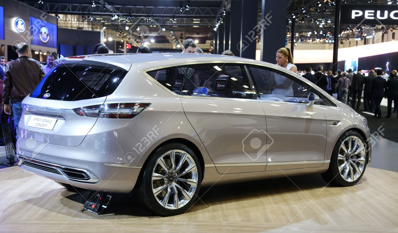 S Max Vignale >> Istanbul Turkey May 21 2015 Ford S Max Vignale Concept In