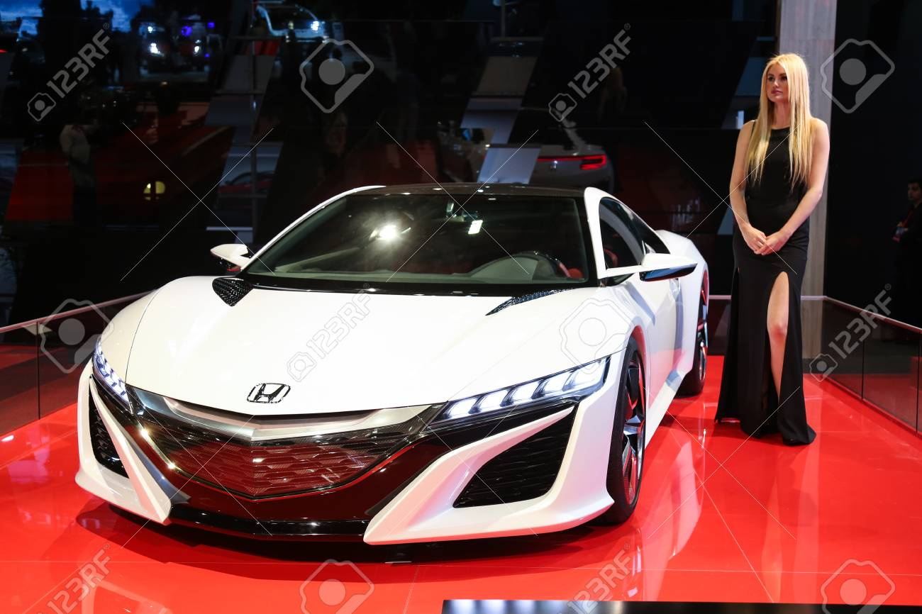Istanbul Turkey May 21 2015 Honda Nsx Concept Car In Istanbul Stock Photo Picture And Royalty Free Image Image 41704049