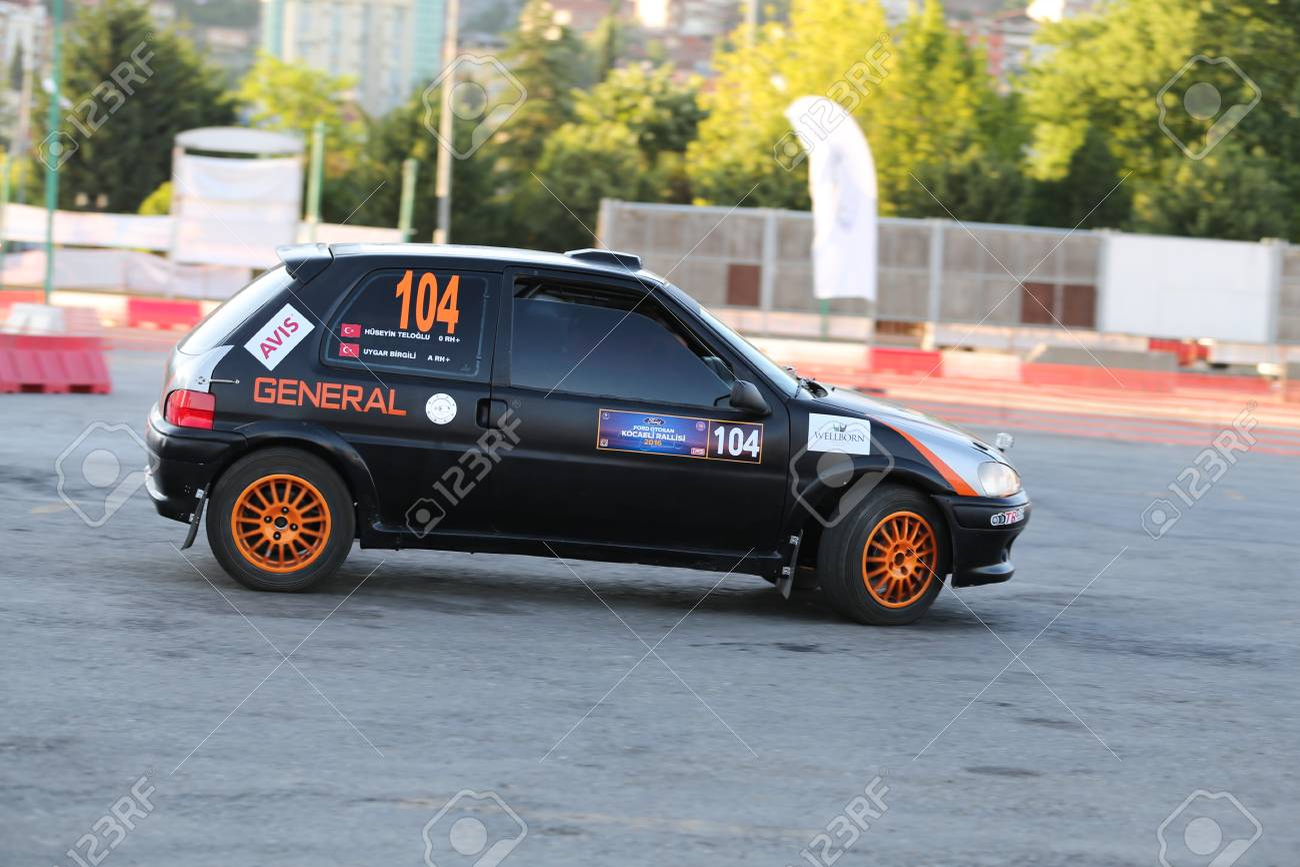 Kocaeli Turkey June 11 2016 Uygar Birgili Drives Peugeot Stock Photo Picture And Royalty Free Image Image 58938114
