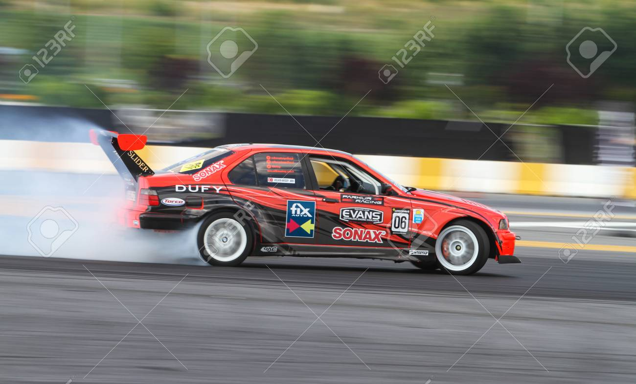 Istanbul Turkey July 29 2017 Volkan Arisoy Drives Bmw E36 Stock Photo Picture And Royalty Free Image Image 86836167