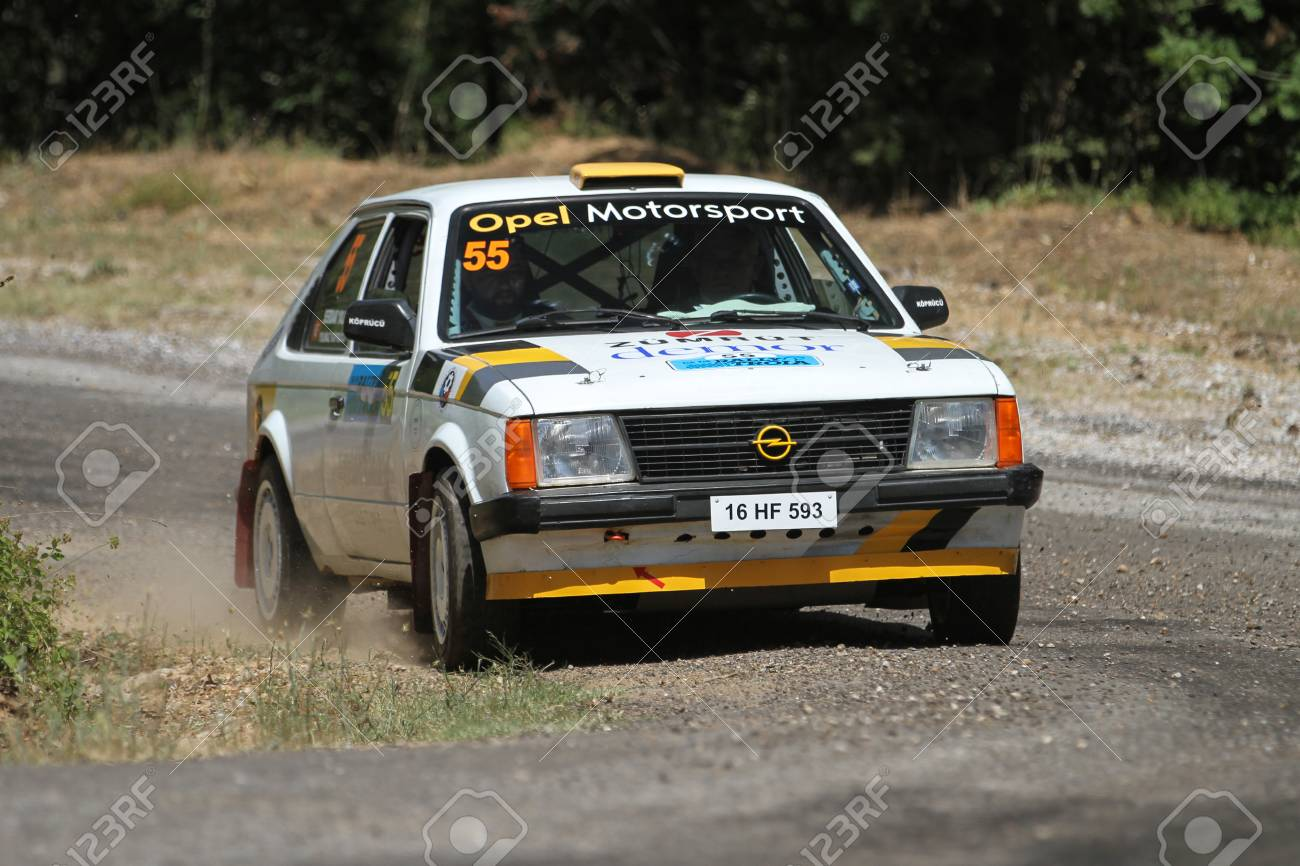 Canakkale Turkey July 01 2017 Yilmaz Koprucu Drives Opel Stock Photo Picture And Royalty Free Image Image 89569076