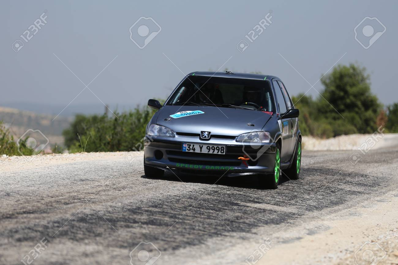 Canakkale Turkey July 02 2017 Mustafa Nazik Drives Peugeot Stock Photo Picture And Royalty Free Image Image 89569105
