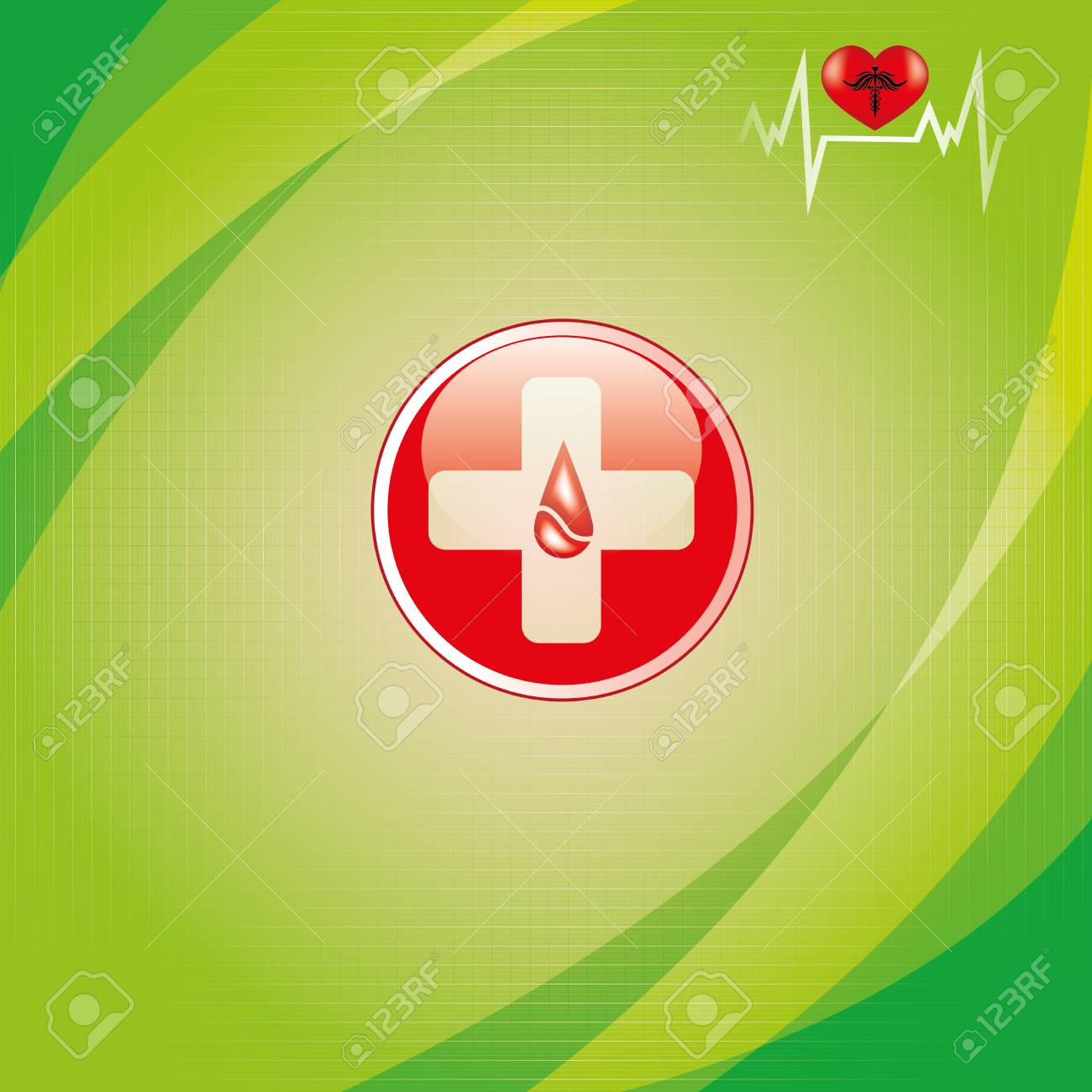 Abstract medical background Stock Vector - 14583200