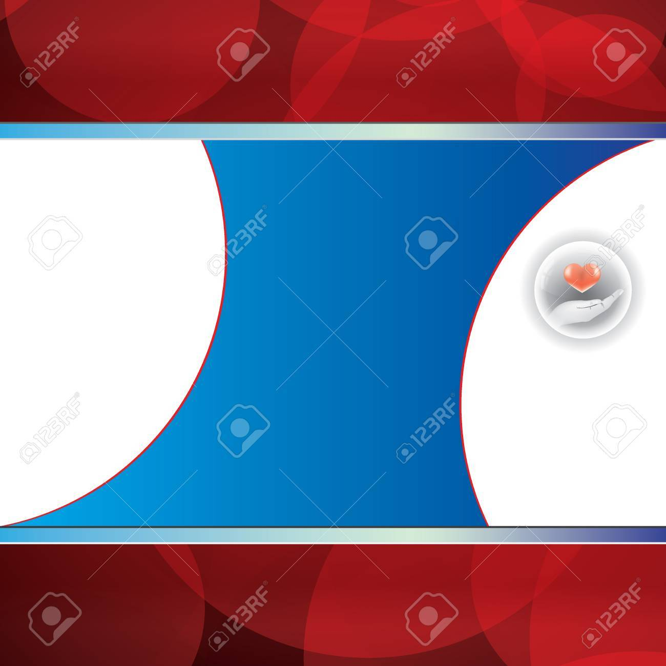 Abstract blue red grid medical background Stock Vector - 18093297