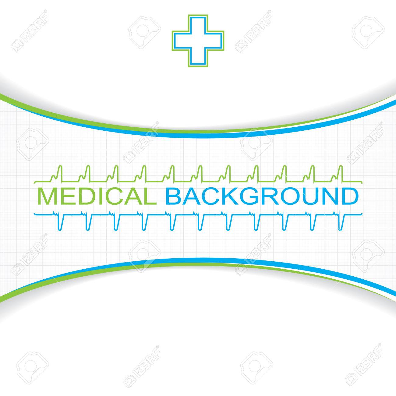 Abstract blue grid medical background Stock Vector - 22952015