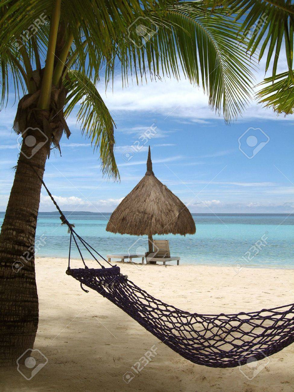 A place in the shade, Bohol, Philippines Stock Photo - 3026724