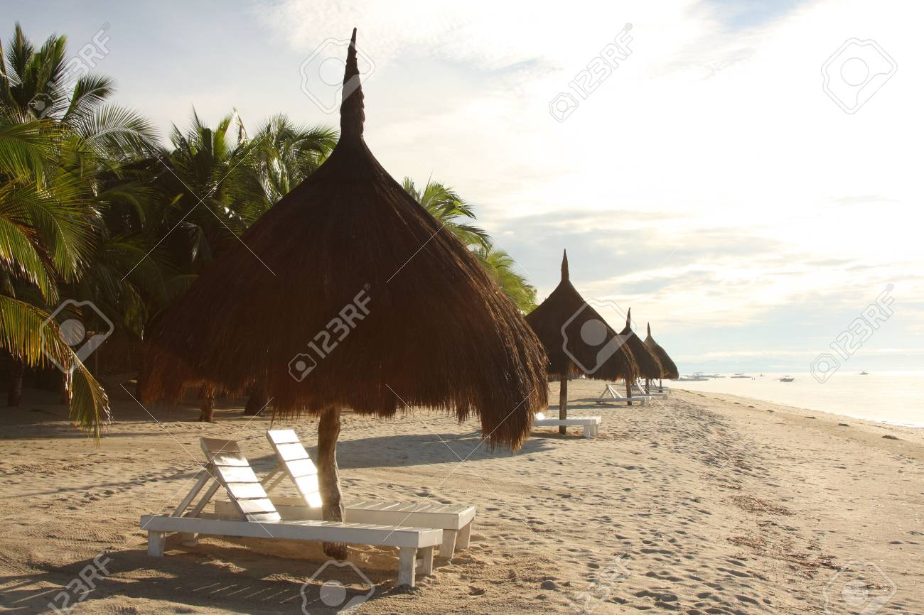 A place in the shade, Bohol, Philippines Stock Photo - 3026785