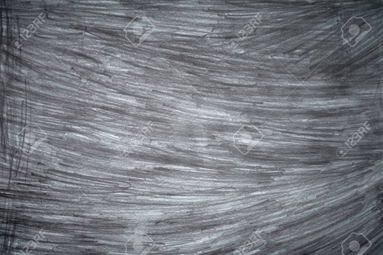 Graphite pencil strokes on the white paper pencil drawing texture