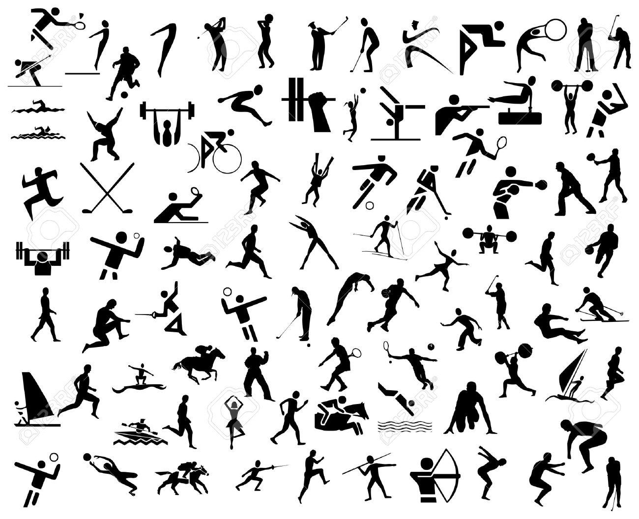 sport icons Stock Photo - 8531220