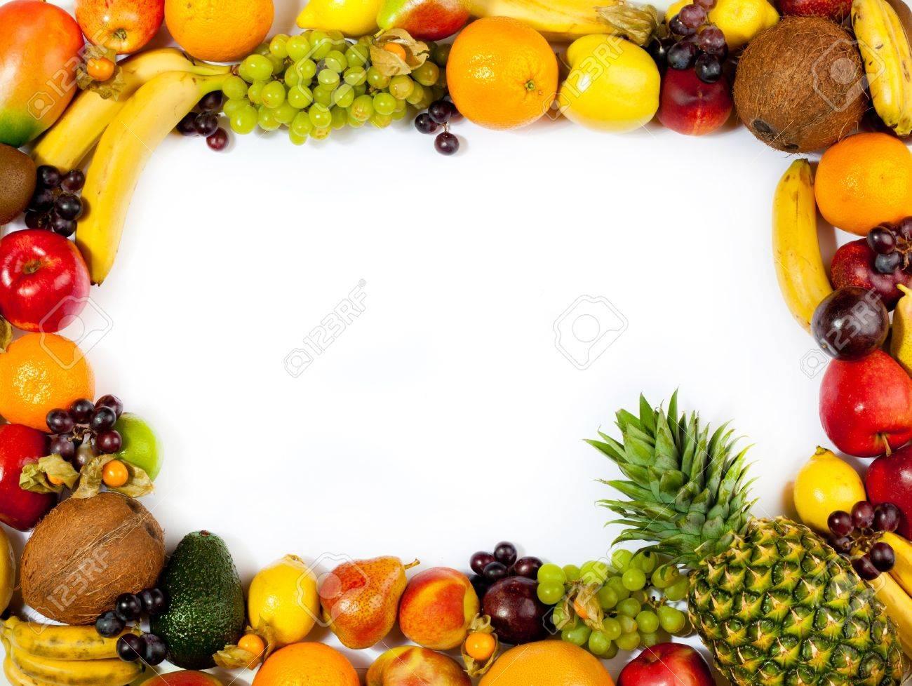 fruits frame Stock Photo - 11044006