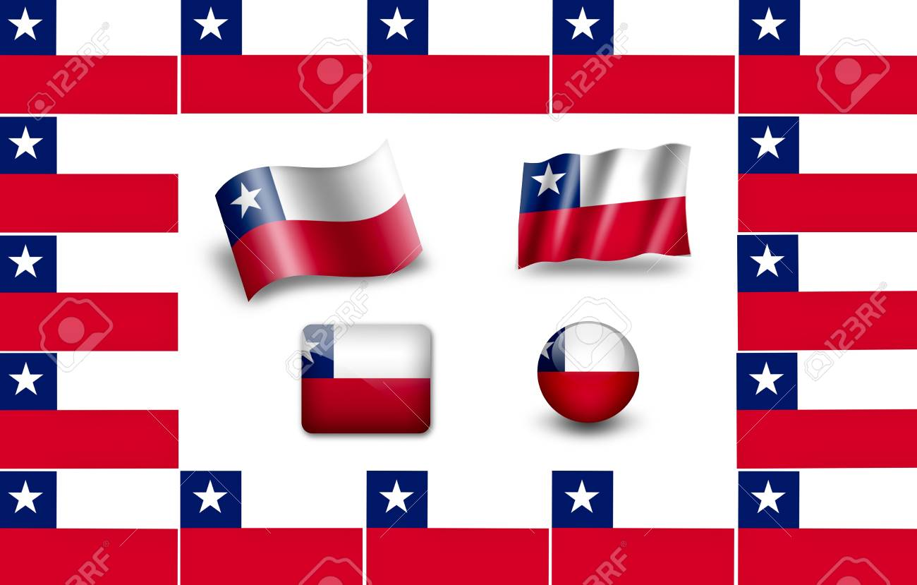 flag of Chile Stock Photo - 12012185