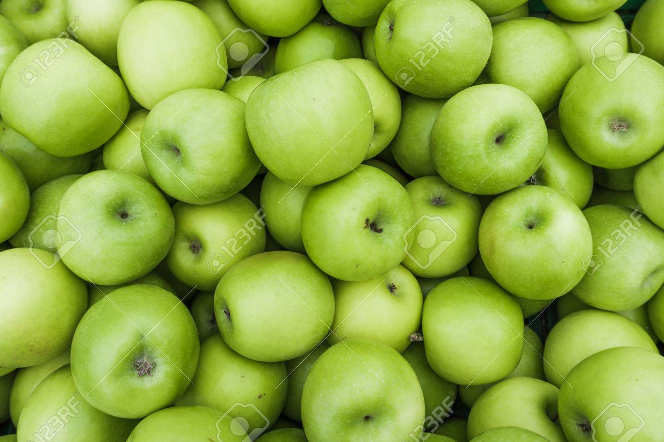 green apple background stock photo, picture and royalty free image