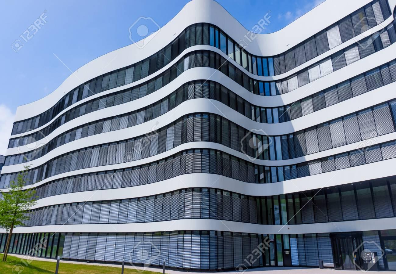 Paysage urbain immeubles de bureaux à larchitecture dentreprise