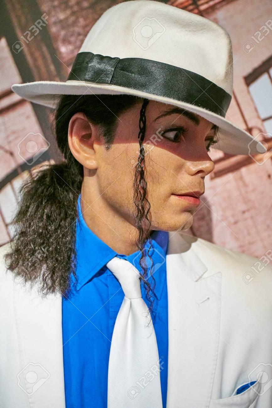 34ca35afcfc8e3 Amsterdam, Netherlands - September 05, 2017:Wax figure of Michael Jackson  in Madame