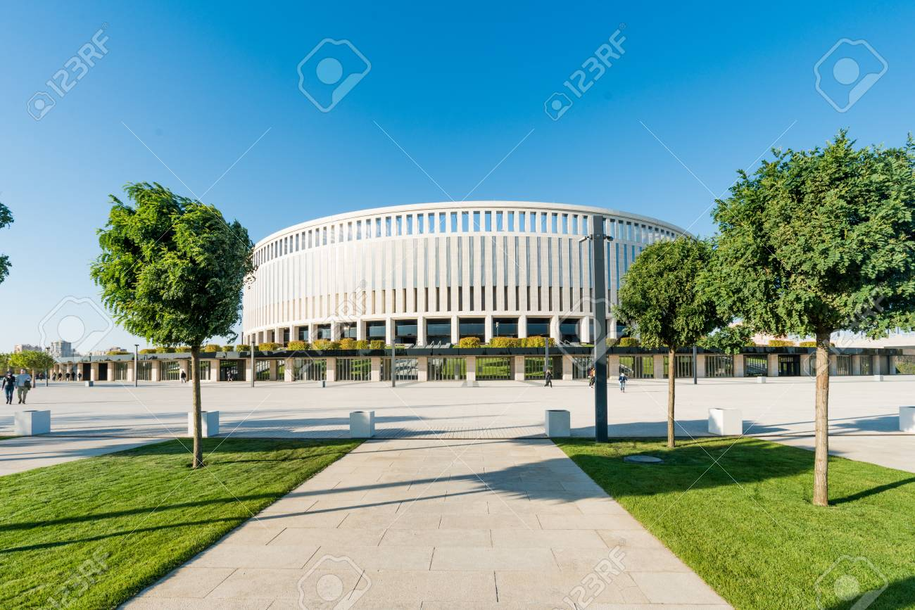 New Stadium Of Fc Krasnodar Stock Photo Picture And Royalty Free Image Image 94000344