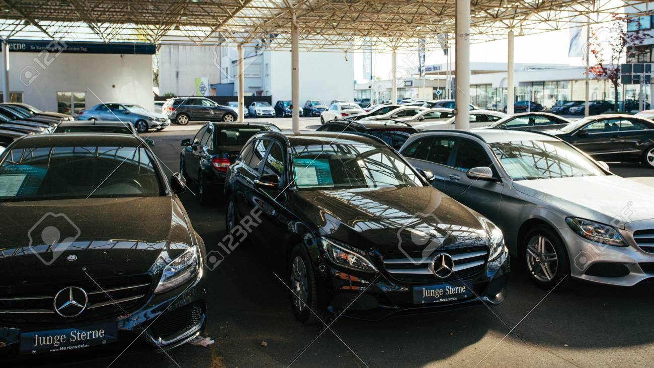 Mercedes Benz Germany >> Moenchengladbach Germany April 30 2017 Office Of Official Dealer Mercedes Benz Mercedes Benz Is A German Automobile Manufacturer