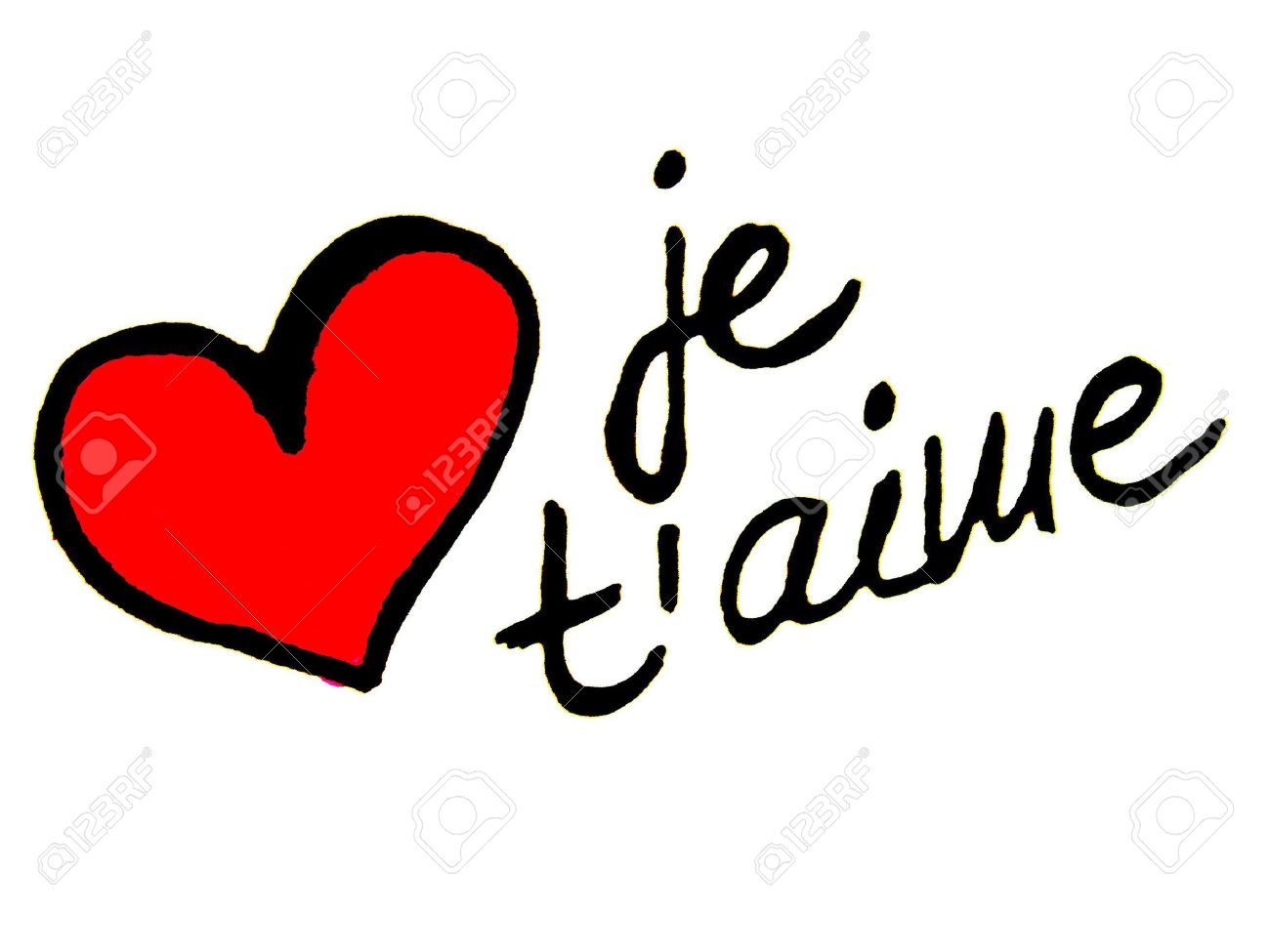 I Love You In French Language