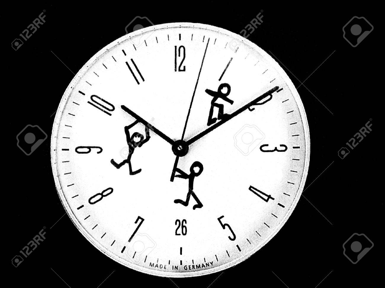 time slaves Stock Photo - 4425404