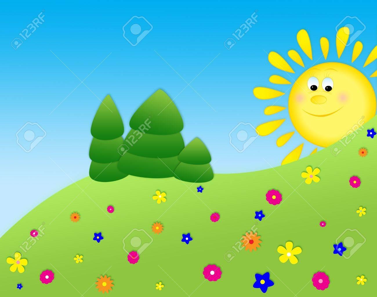 summer landscape Stock Photo - 11553468