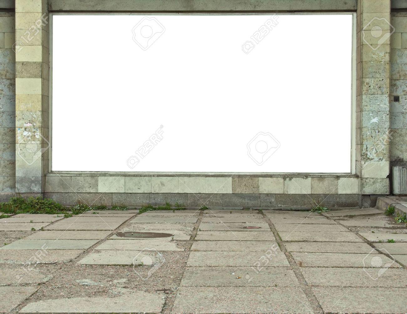 Wall-mounted billboard Stock Photo - 5802756