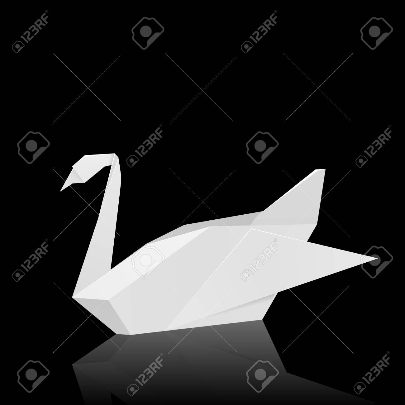 Easy Origami Swan Tutorial | 1300x1300