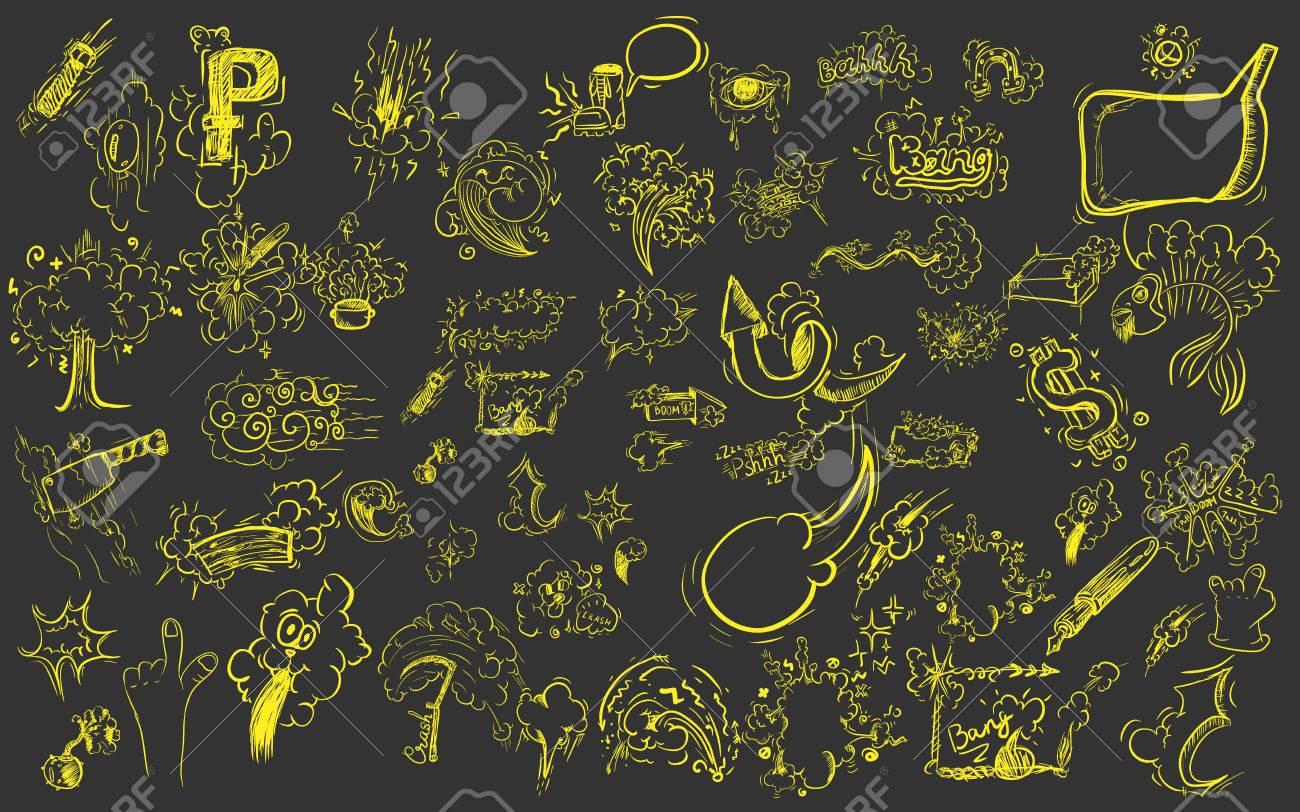 Vector illustration of some cartoon text explosions vector comic vector illustration of some cartoon text explosions vector comic book explosion elements cartoon symbols buycottarizona