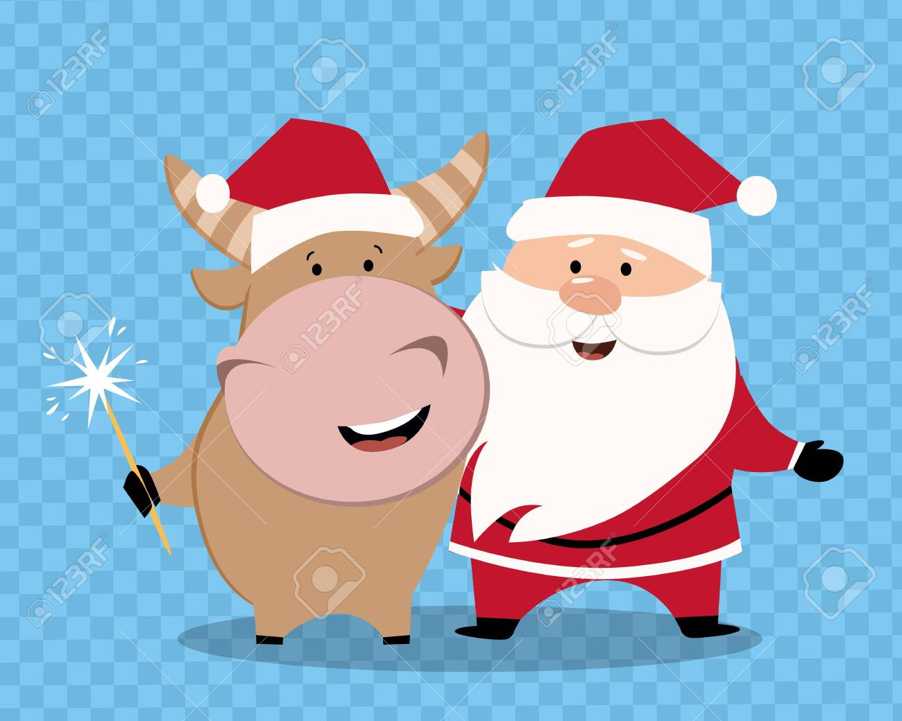 cartoon happy new year 2021 bull vector of cute ox santa merry royalty free cliparts vectors and stock illustration image 149263095 cartoon happy new year 2021 bull vector of cute ox santa merry