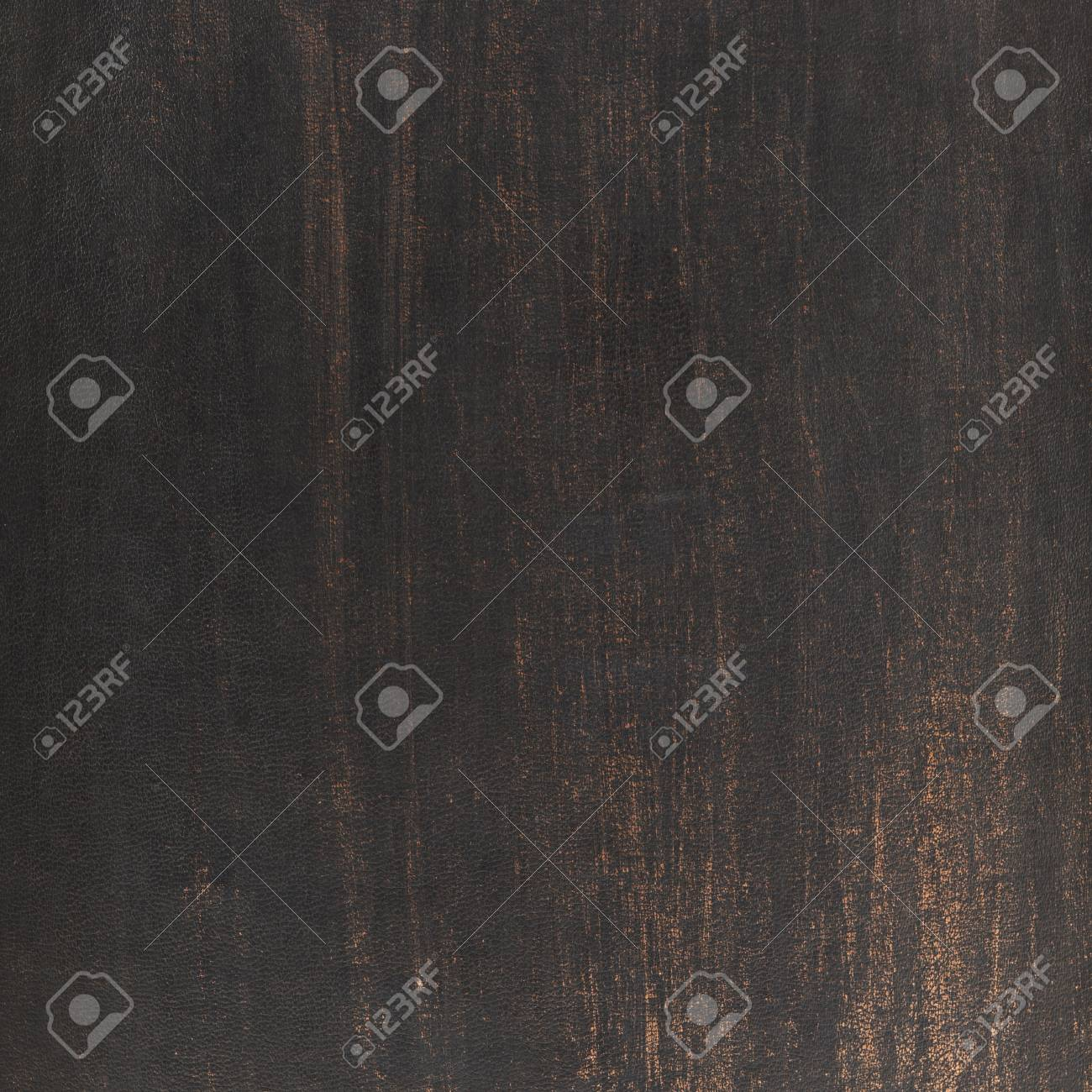 Scratched dark old leather texture as a background Stock Photo - 21053744