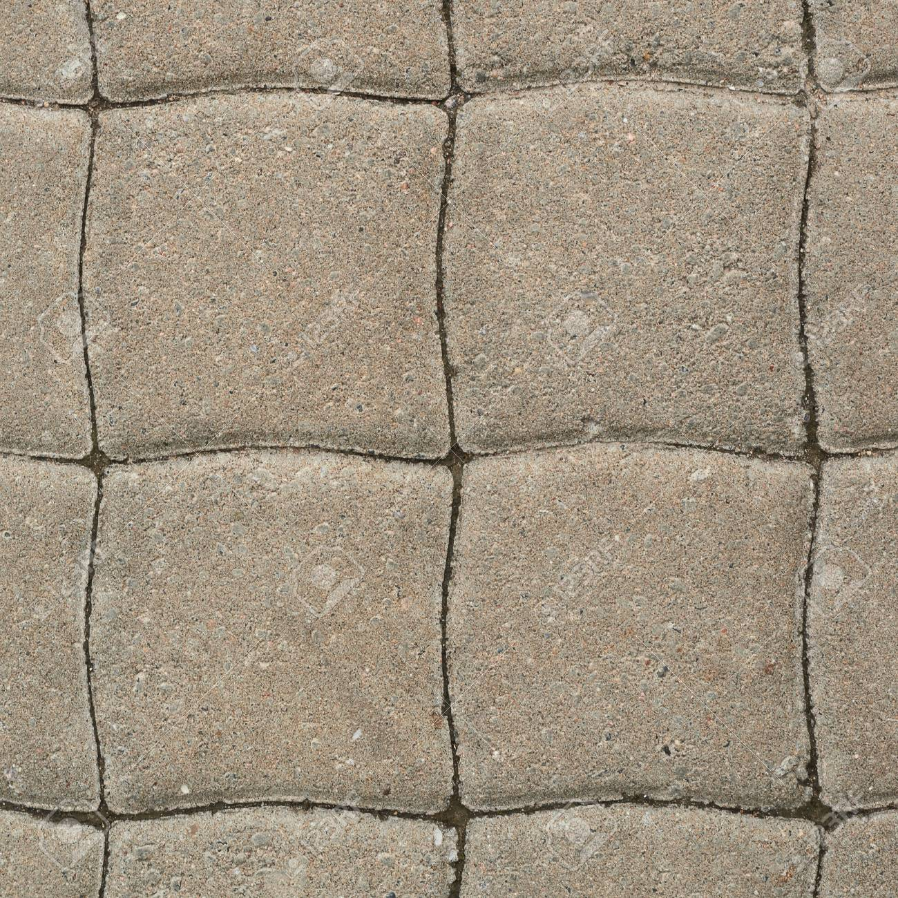 Tiled with paving stone bricks path's fragment as an abstract Stock Photo - 22689422