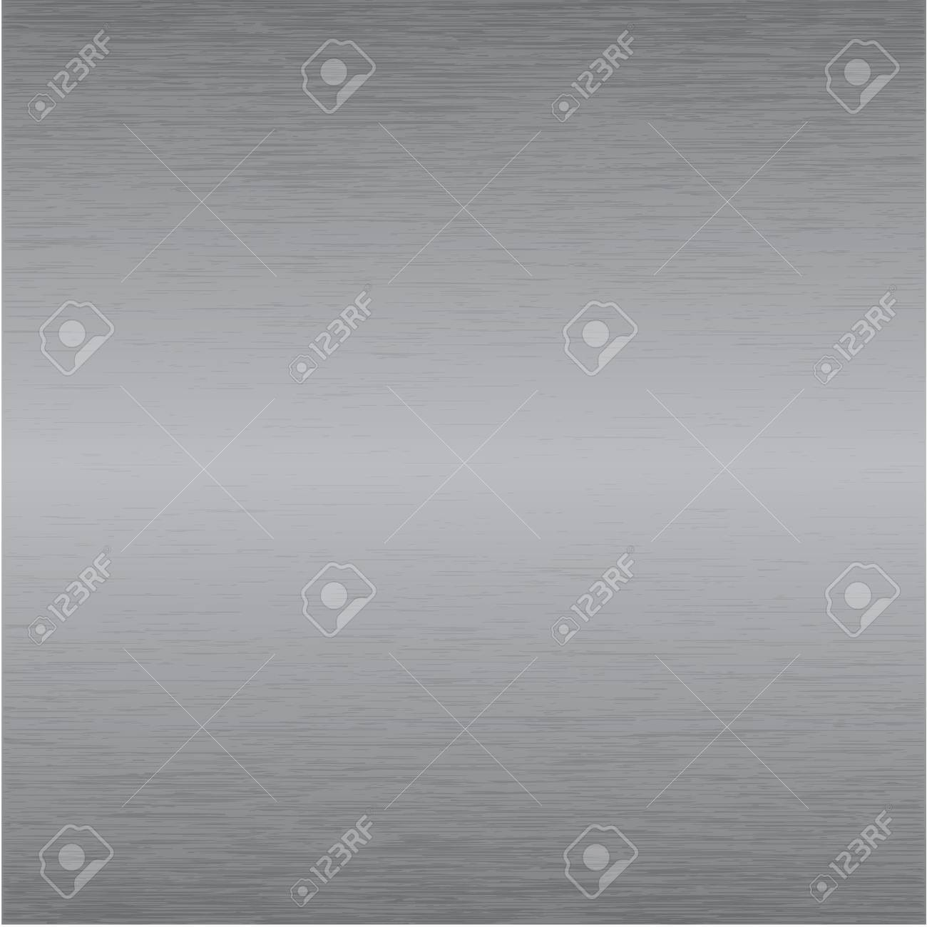 brushed metal plate texture Stock Vector - 6276721
