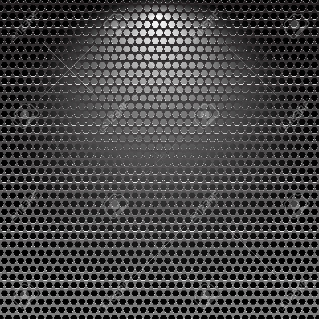 Dark stainless grille metal texture background with light effect Stock Vector - 7617544