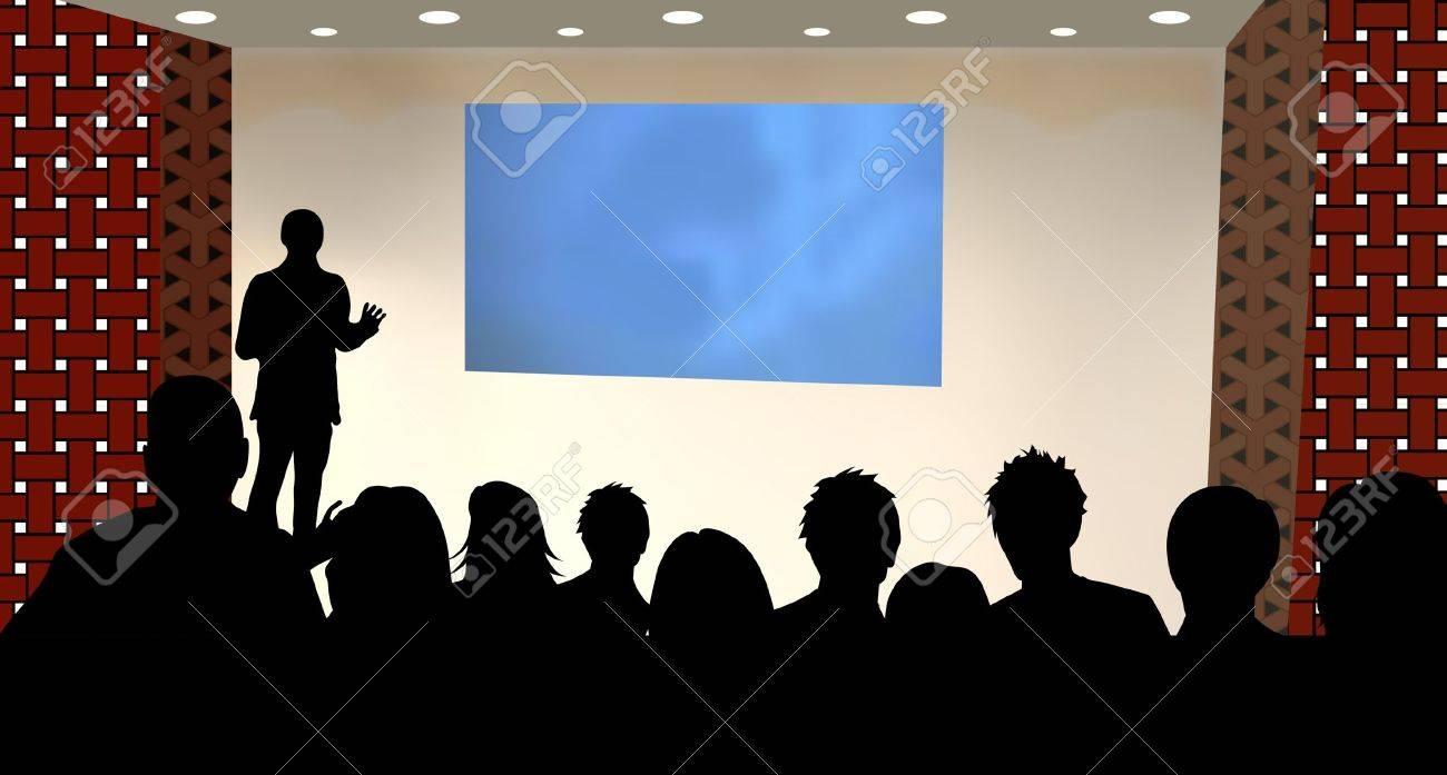Person presentation