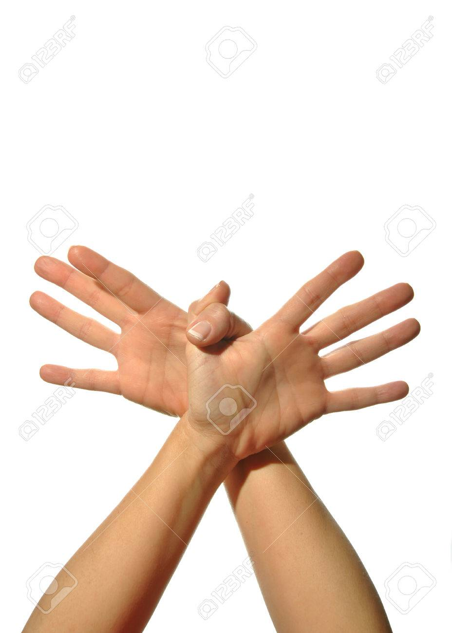 mudra hands poses on white background stock photo picture and