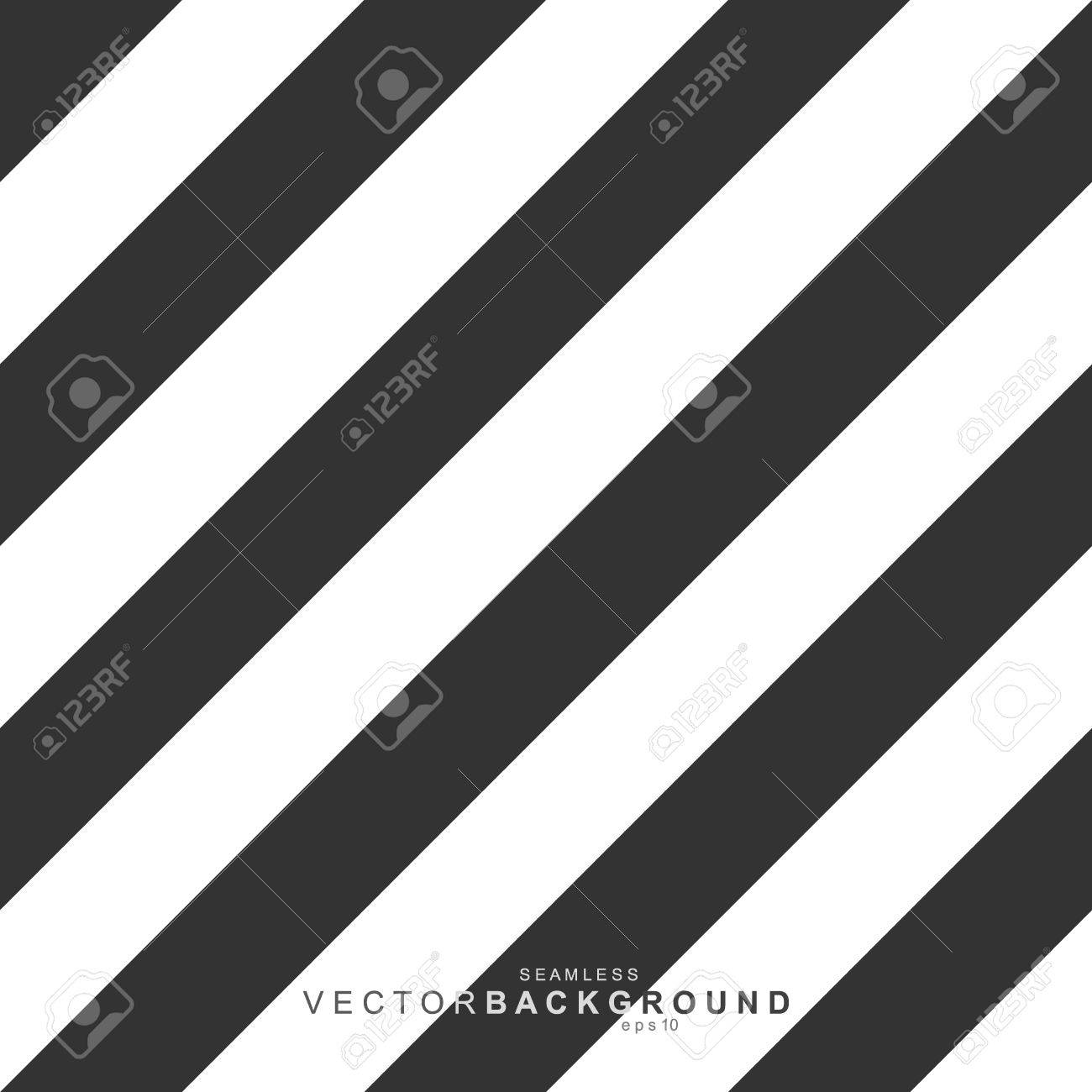 Striped pattern, seamless black and white texture - 50589015