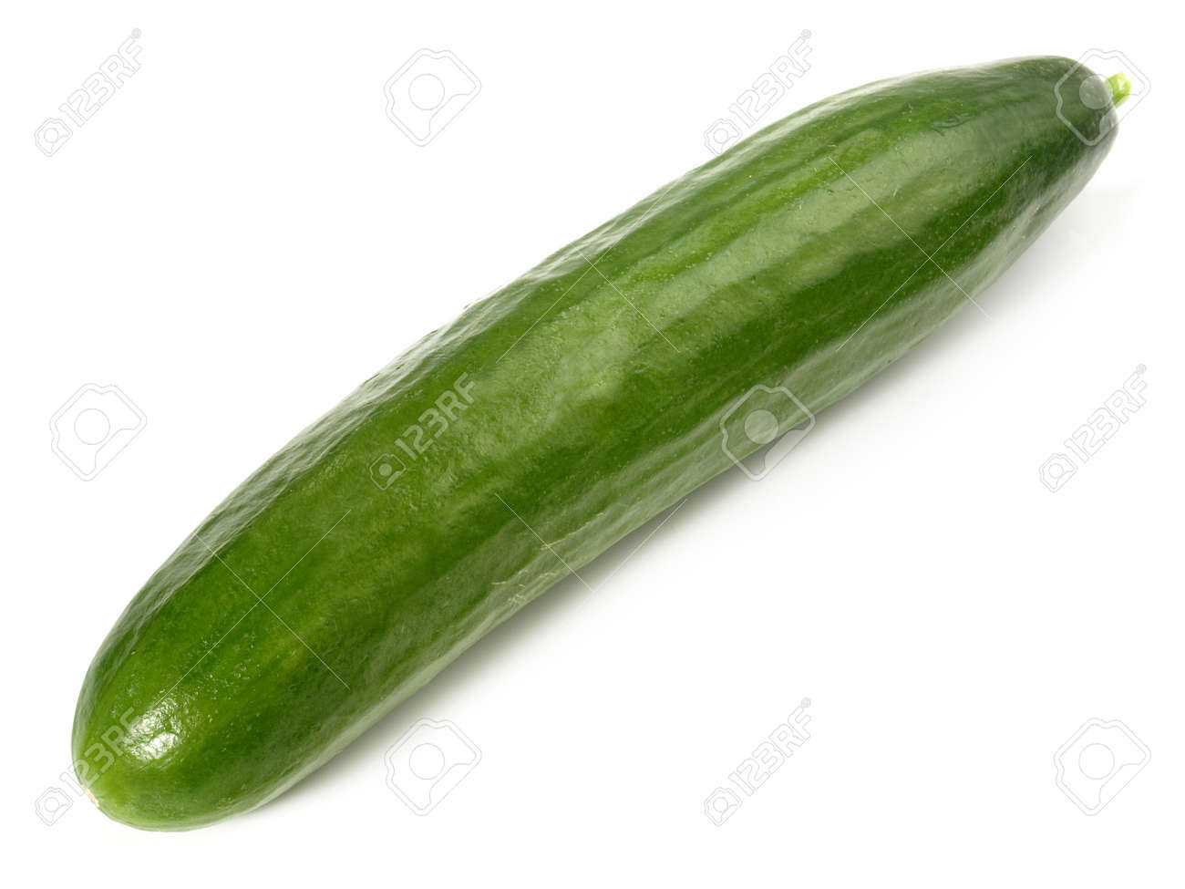 Cucumber - Isolated on white background - 165763627