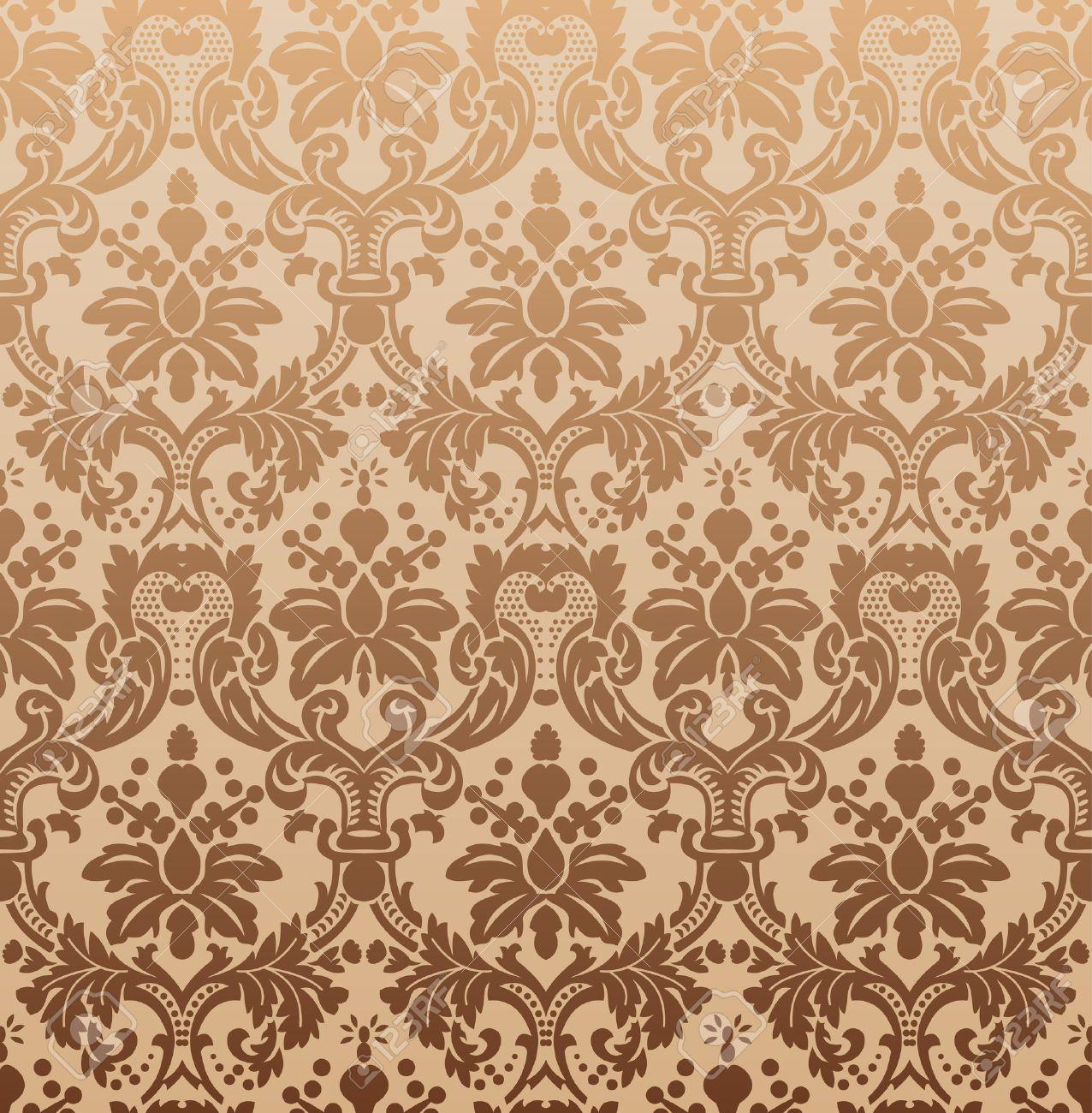 Imperial seamless wallpaper. Vector illustration Stock Vector - 6079277