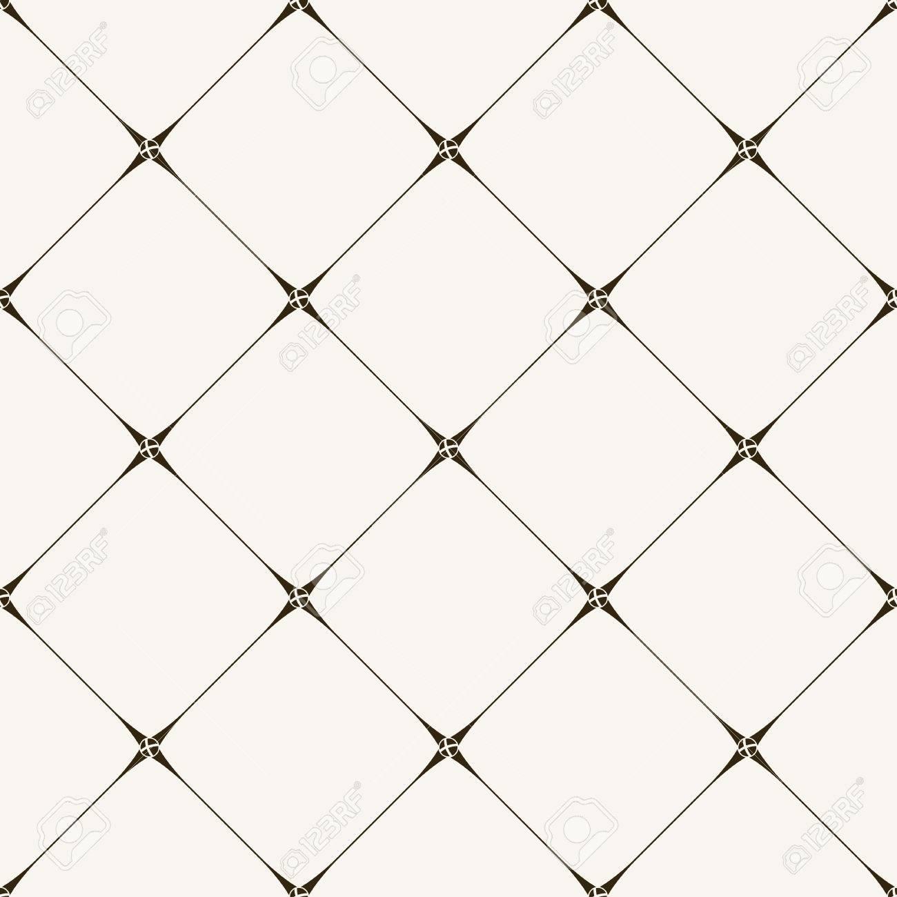 Seamless Tile Pattern. Modern Stylish Texture. Geometric With ...