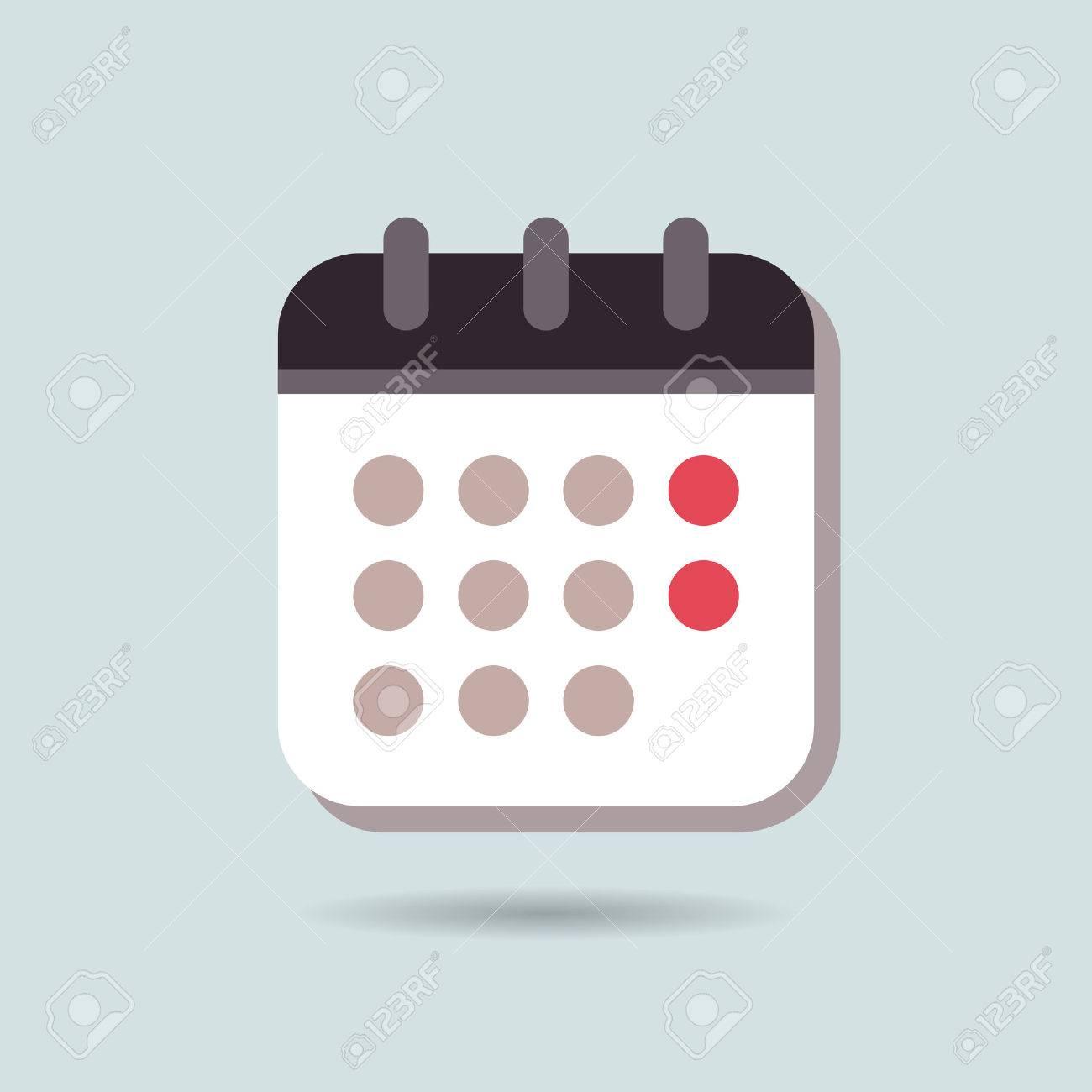 Illustration Calendrier.Calendar Icon Calendar Icon Vector Calendar Icon Picture