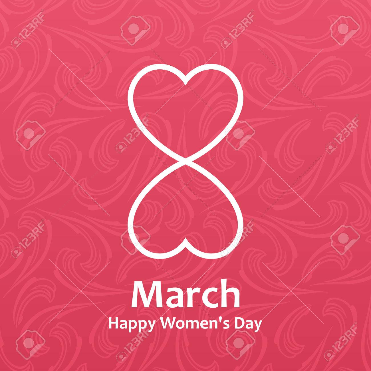 Woman S Day Vector Cards Templates Women S Day Cards Labels