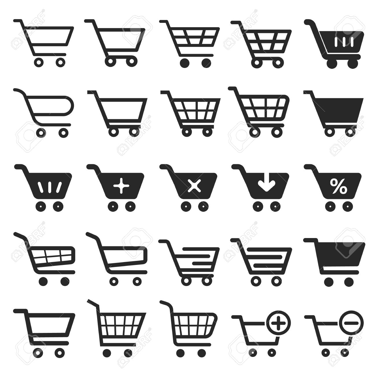Shopping Cart icon set, shopping cart icon, shopping cart, business icon, web icons, trolley icon, shopping icon, cart icon, shop icon, shopping cart button - 59894892