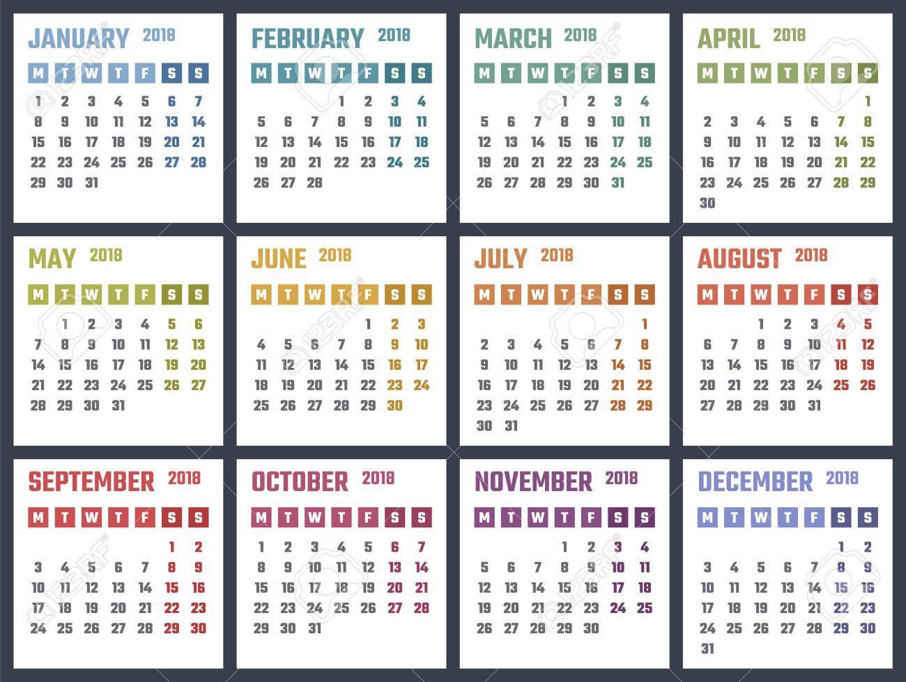 12 year calendar