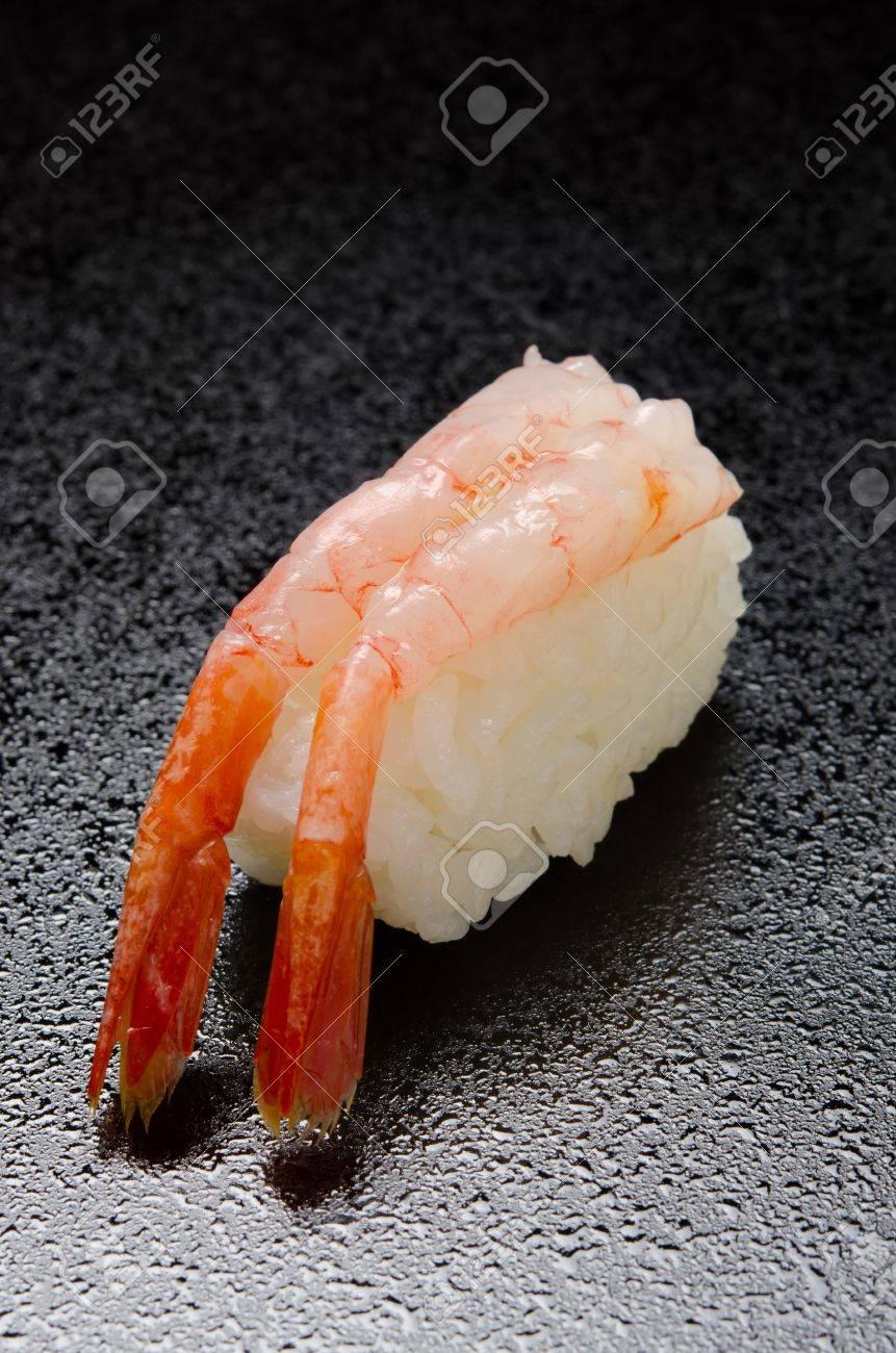 Raw Shrimp Sushi Stock Photo Picture And Royalty Free Image Image
