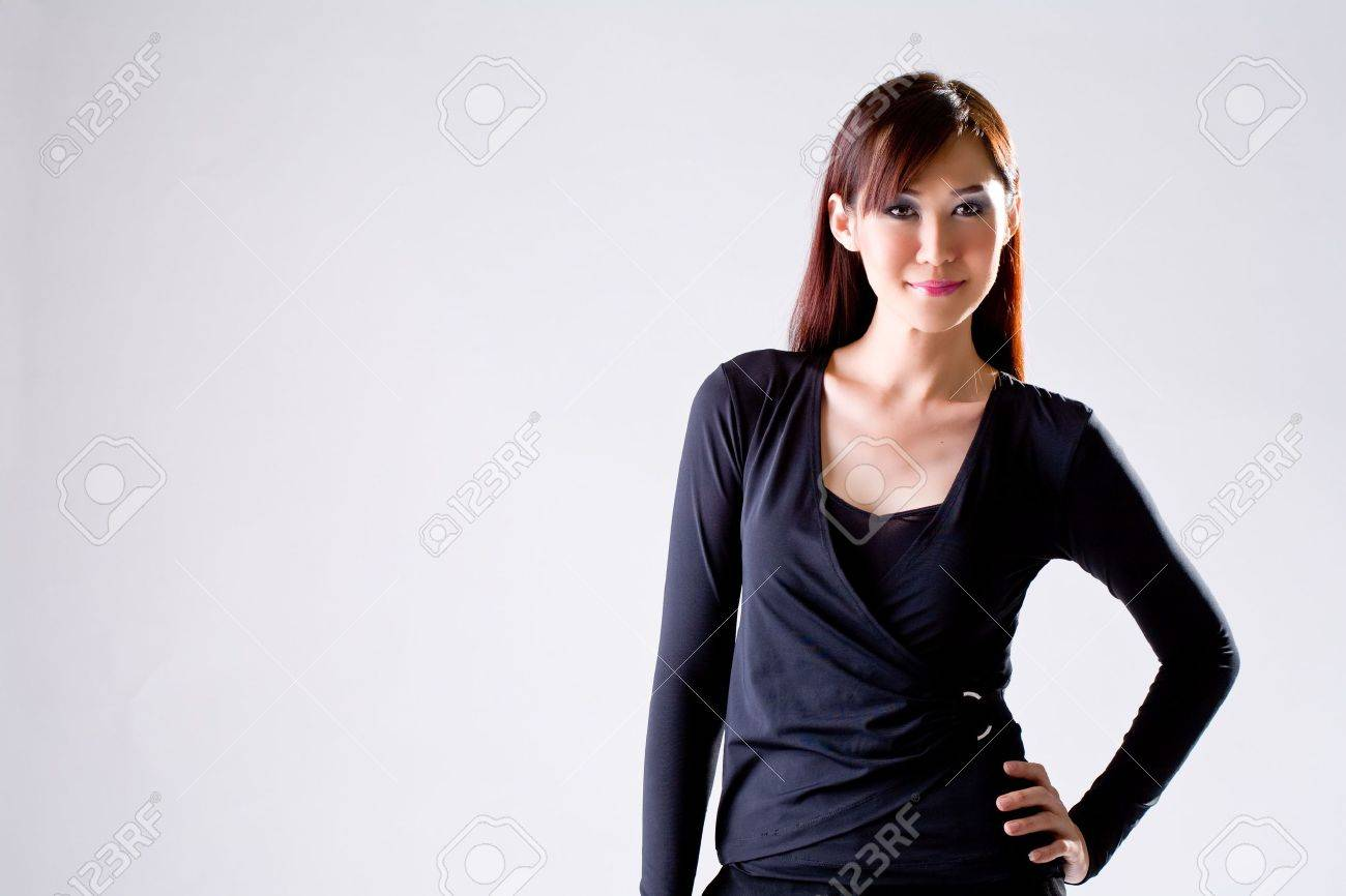 young executive with an engaging smile Stock Photo - 2056077